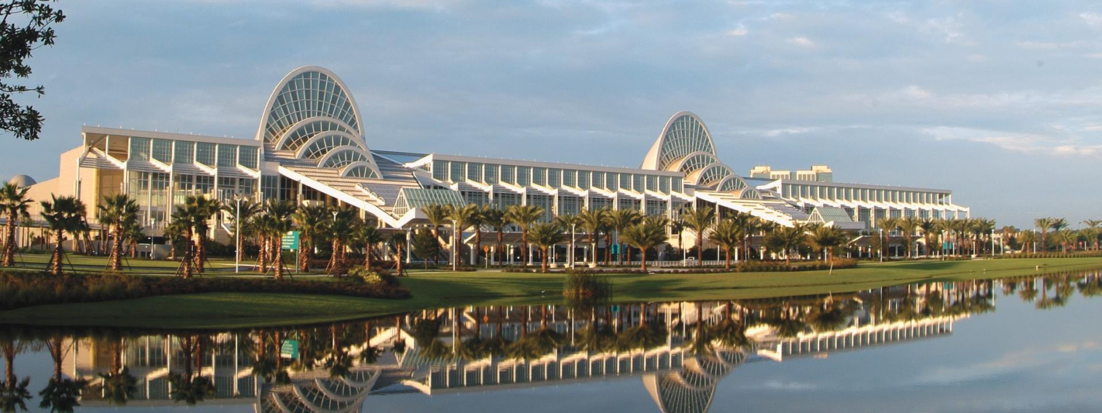 Panoramic view of the Orange County Convention Center.