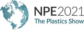 The official NPE 2021 logo.